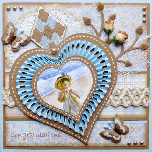 Building a heart shape Metal Cutting Dies New 2018 Craft Stamps die Cut Embossing Card Making Stencil Frame