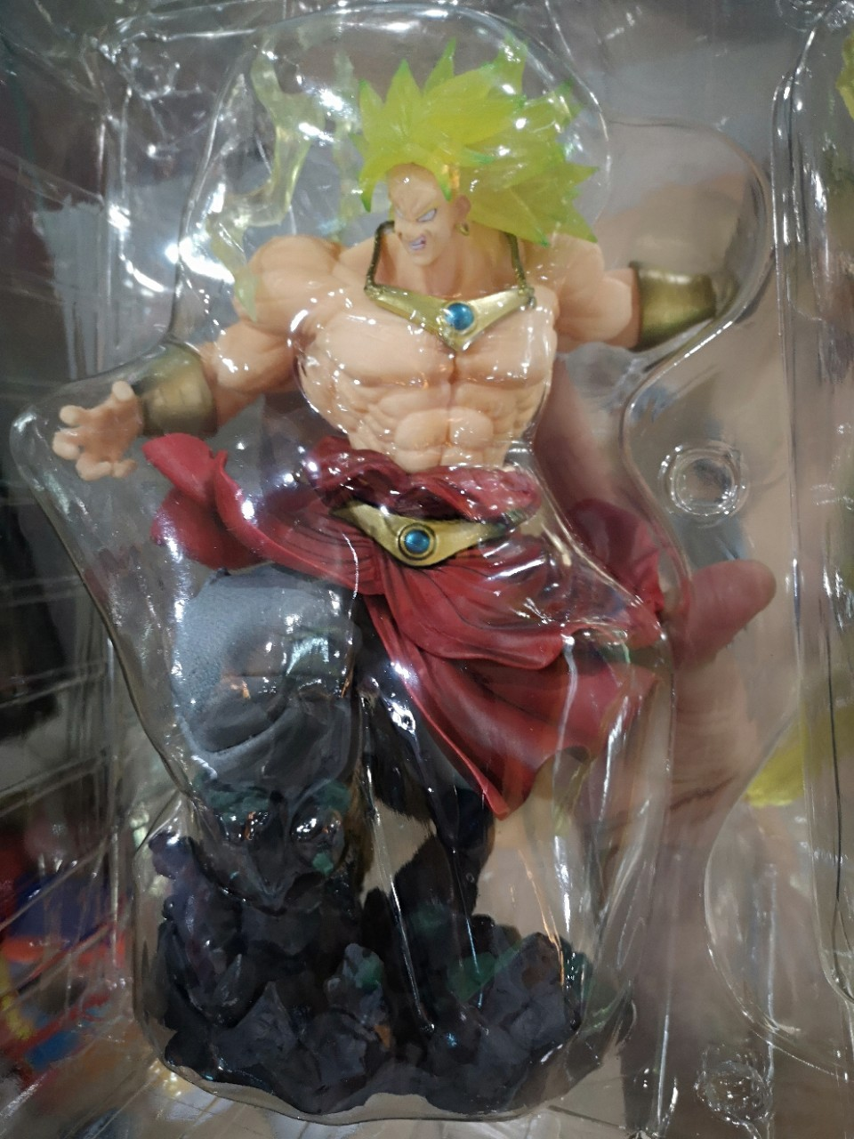 Новые горячие Dragon Ball Z фигурка F. ZERO Супер Saiyan Broli фигурку Broly ПВХ 32 см - 6