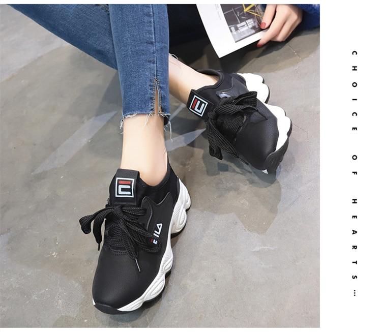 Até Lona Vulcanizar Sapatos Mulher Tenis Feminino