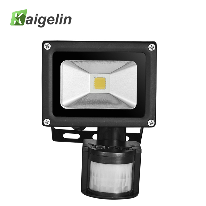 цена 10W PIR Infrared Motion Sensor 85V-265V LED Flood Light 700LM COB Integrated LED Lamp Chip Floodlight Motion Sensor LED Lamp