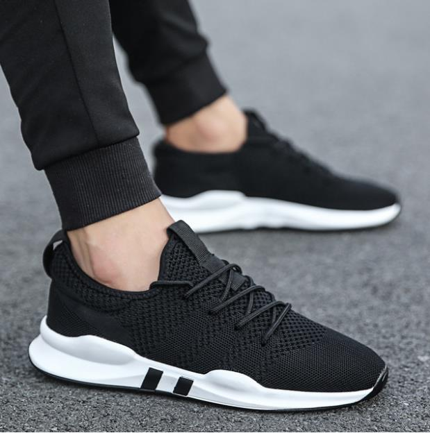 2c12baef7 Fashion Man Breathable Mesh Shoes For Men Sneakers Casual Shoes Outdoor  Sport Shoes Professional Training Flat
