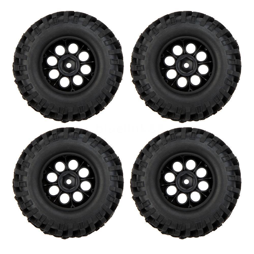 100% 4X 1/10 Climber Off-road Car Wheel Rim+Tire 260001 for Traxxas HSP RC Car