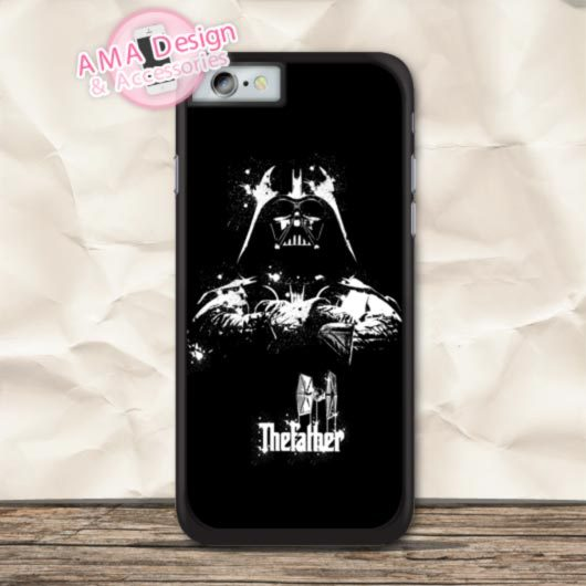 Darth Vader Vintage Star Wars Funny Cover Case For iPhone X 8 7 6 6s Plus 5 5s SE 5c 4 4s For iPod Touch