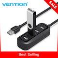Vention במהירות גבוהה 4 יציאות USB 2.0 רכזת USB יציאת USB HUB נייד OTG רכזת USB ספליטר עבור Apple Macbook אוויר מחשב נייד מחשב לוח