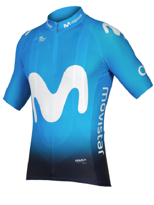 Shirt Bycicle-Clothing Cycling-Jerseys Short-Sleeve Team Movistar Tops Summer Men Ropa-Ciclismo