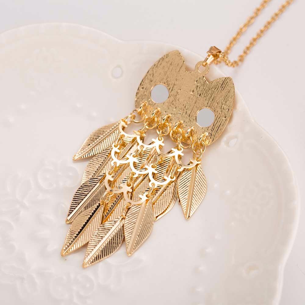 HTB1tSs9OXXXXXXNXpXXq6xXFXXXM - Gold Wise Owl Style Pendant