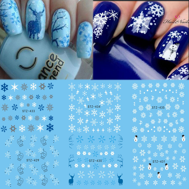 Christmas Design Nail Art Stickers