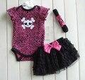 Children's clothing original single Baby Coverall Baby summer suit  Romper + headband + Tutu  skirt