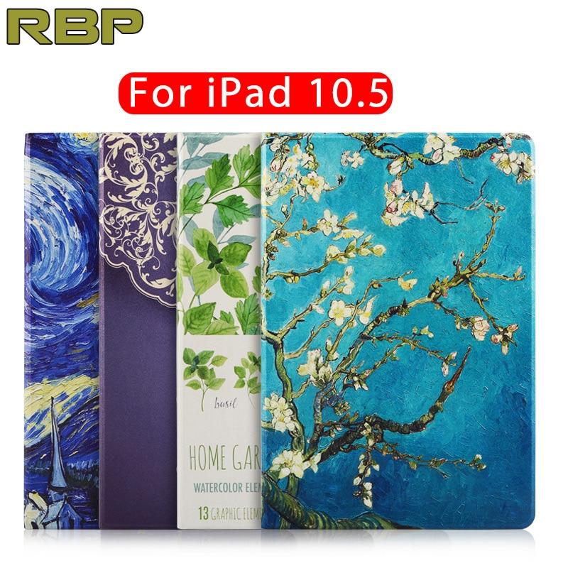 RBP for Apple iPad pro 10.5 case Painting series for iPad pro 10.5 cover All-inclusive Ultra thin pro 10.5 inch case pattern пена монтажная mastertex all season 750 pro всесезонная
