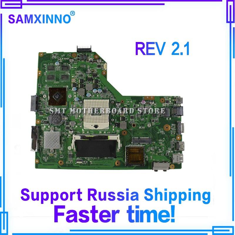 K54LY Carte Mère REV2.1 HM65 1 gb RAM Pour ASUS X54H K54HR X54H Mère d'ordinateur portable K54LY Carte Mère K54LY Carte Mère test 100% OK