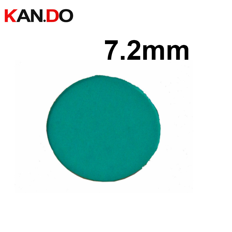 650nm IR Filter Round Diameter 7.2mm Cut Off Infared Wavelength For Action Camera/drive Recorder/Video Doorbell Lens