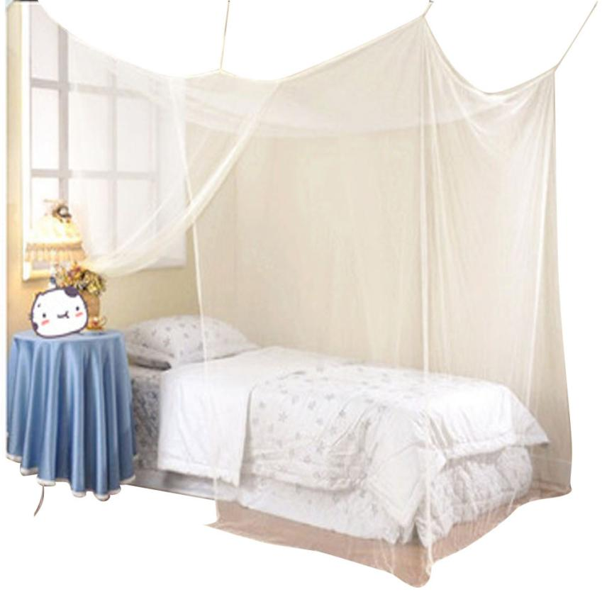 1 PC Encryption Nets 1.8 m Bed Student Dormitory Mosquito Nets Party 180*200cm Polyester Janu 11