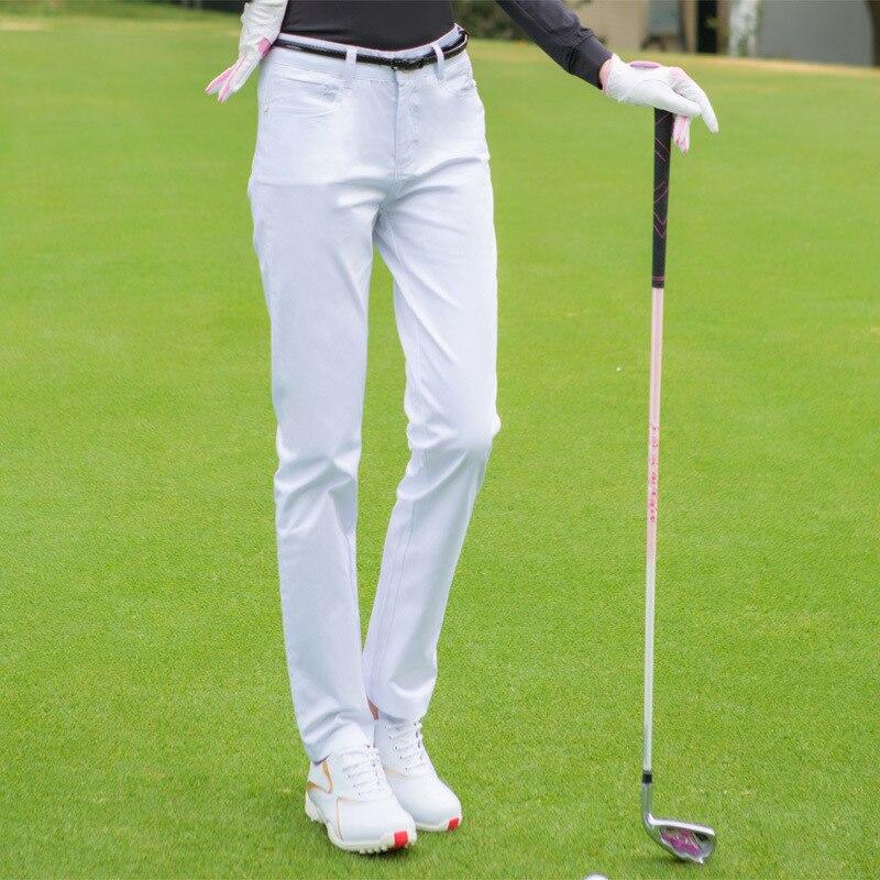 Pgm Golf Pantalones Golf Ropa Deportiva Femenina Pantalones Ajustados Ligeros Delgados Pantalones Para Exterior Sport Golf Apparel D0674 Pantalones De Golf Aliexpress