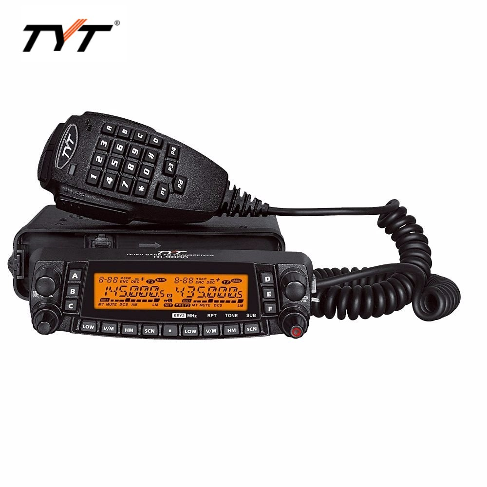 Image 4 - HOTTEST!!!TYT TH 9800 long distance car radio mobile walkie talkie 100KM Coverage VV,VU,UU Quad band Two way radio Repeater-in Walkie Talkie from Cellphones & Telecommunications