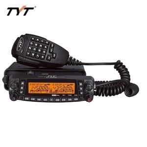 Image 4 - Mais quente!!! tyt TH 9800 longa distância rádio do carro móvel walkie talkie 100 km cobertura vv, vu, uu quad band two way repetidor de rádio
