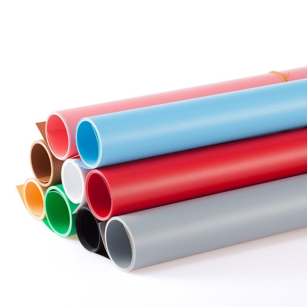 5 pcs/lot 100X200 CM 120*200 CM PVC mat brillant vinyle fond pour Photo Studio photographie fond