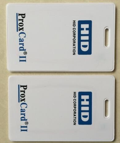 125khz em4100 door entry access blank white proximity rfid clamshell thick card thickness 1 9mm pack of 10 125khz H-ID PROX II Clamshell Card, access card, Rewritable RFID Proximity H-ID Thick Card 1326,WG26 format,min:1pcs