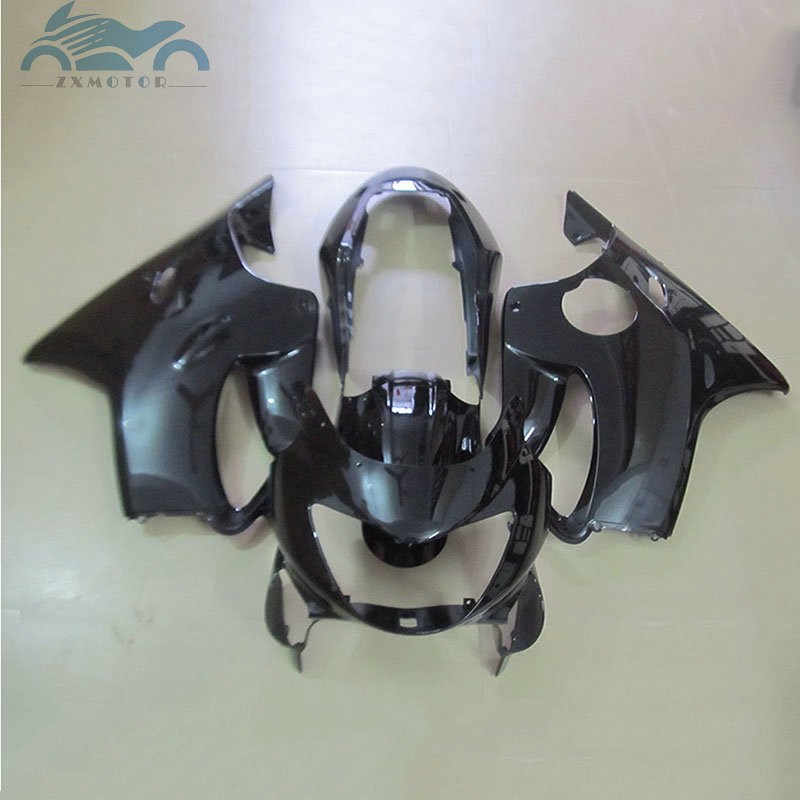 Free Custom Injection fairing for HONDA 1999 2000 CBR600 F4 motorcycle parts full black cbr 600 f4 99 00 aftermarket fairings|Covers & Ornamental Mouldings| |  - title=