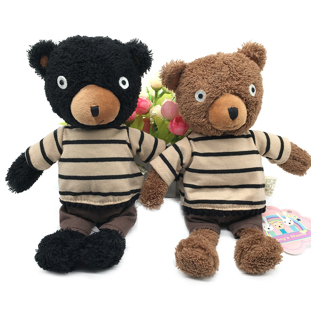 8c77d76f2ee Cute Teddy Bear Plush Dolls Soft Stuffed Wearing Clothes Bears Sleeping  Appease Bear Kids Toys Gifts for Children Girls