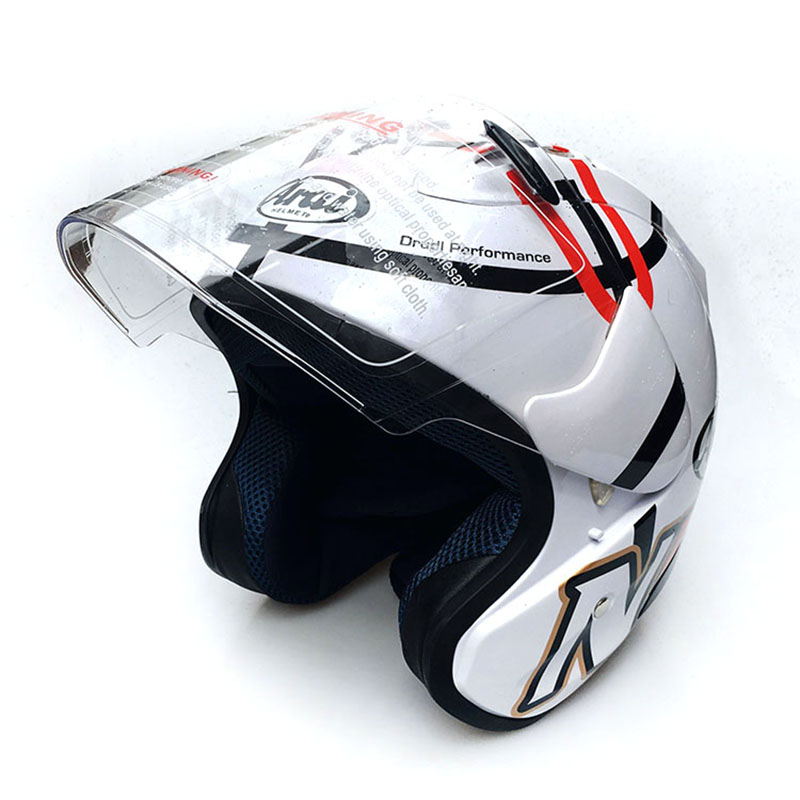 Perfect design safety Motorcycle half helmet  racing moto women helmet