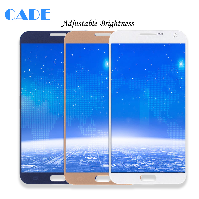 Adjust Brightness LCD Display For Samsung Galaxy E7 E700 E700F E7000 E7009 LCD Display Touch Screen Replacement Parts
