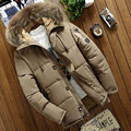 2018 New Men's Winter Duck down Jackets Mens Loose down jacket Fur Hooded Thick Warm Parkas Casual Overcoats male