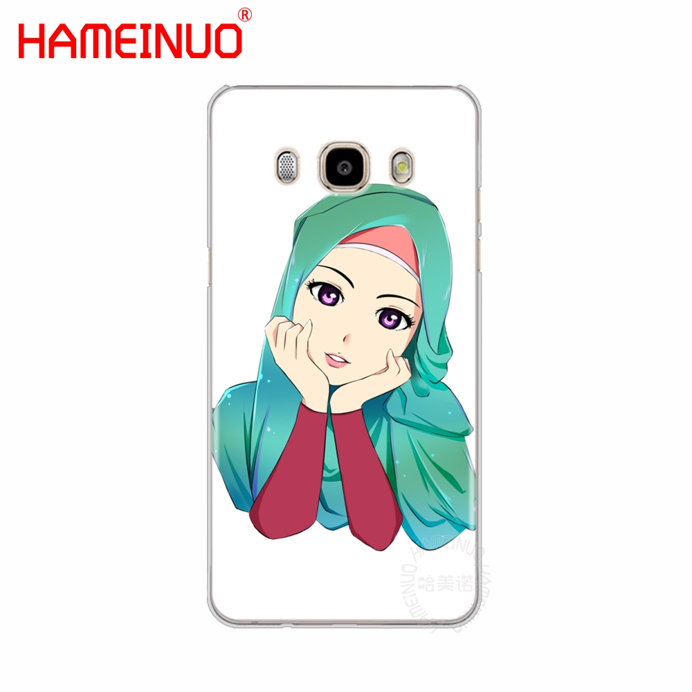 US $1 49 OFF Hijab Beautiful Muslim Girls Women Cover Phone Case For Samsung Galaxy J1 J2 J3 J5 J7 MINI ACE 2016 2015 Prime Half Wrapped Cases