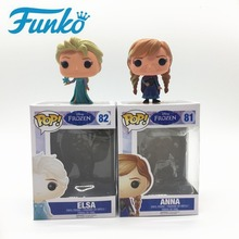 Funko POP Theme Disney frozen Queen Elsa Anna Character Vinyl Action&Toy Figures Movie Fans Model Collection Girl Surprise Gift funko pop vinyl фигурка disney monsters inc roz