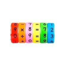 Магнитные Монтессори дети дошкольного образования пластиковые игрушки для детей математические цифры DIY сборка паззлы Мальчики Девочки Подарки