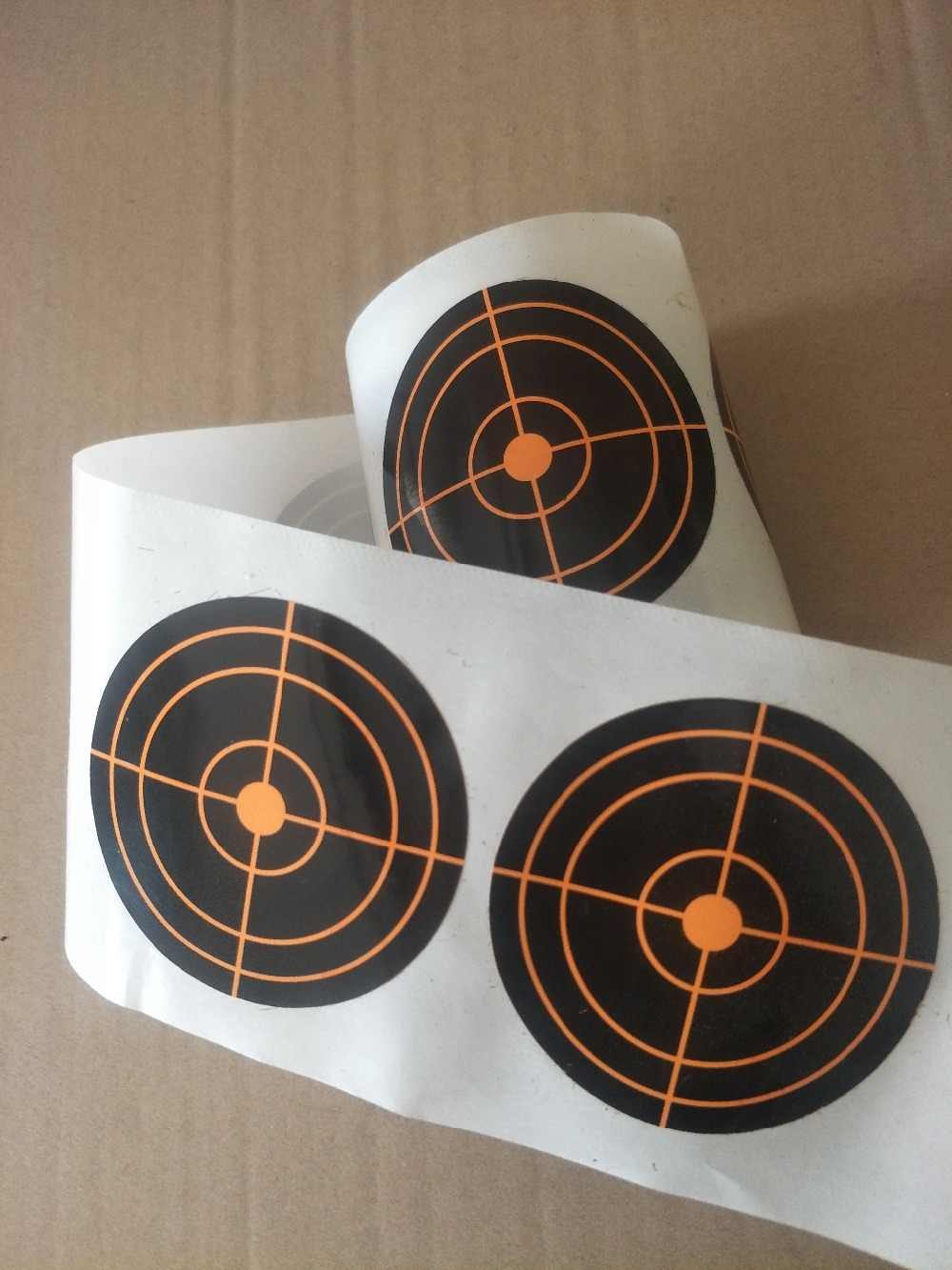 اطلاق النار لاصق الهدف سبلاش رد فعل الهدف ملصق-راجعي ضرب immediately-7.5cm الرماية القوس الصيد الرماية الممارسة
