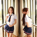 Sexy lingerie pure Japanese women's uniforms cute students uniforms Wholesale Club tie