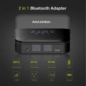 Image 5 - Bluetooth 5.0 verici alıcı kablosuz ses aptX HD düşük gecikme 3.5mm Jack/Spdif adaptörü TV kulaklıklar için araba PC
