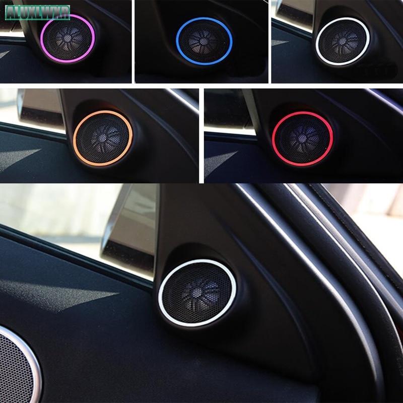 Автомобильная дверь аудио динамик крышка отделка Аксессуары для Land Rover Range Evoque Кабриолет Ember Edition 2013 2014 2015 2016 2017