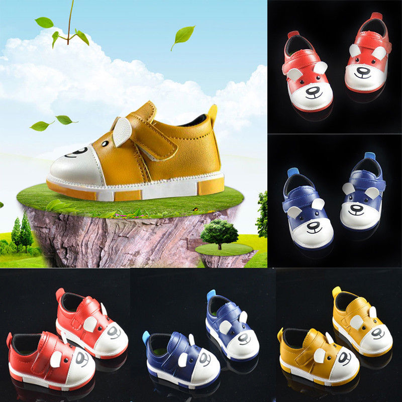 0-3Y pudcoco Newest Arrivals Hot Infant Newborn Toddler Kids Baby Unisex Leather Shoes Soft Sole Anti-slip Casual Prewalker