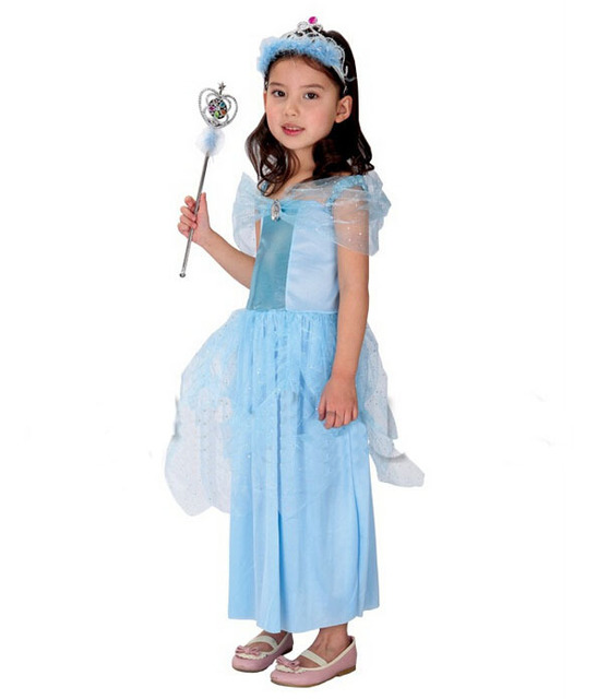 halloween wholesale new years holiday party angel performance clothing blue