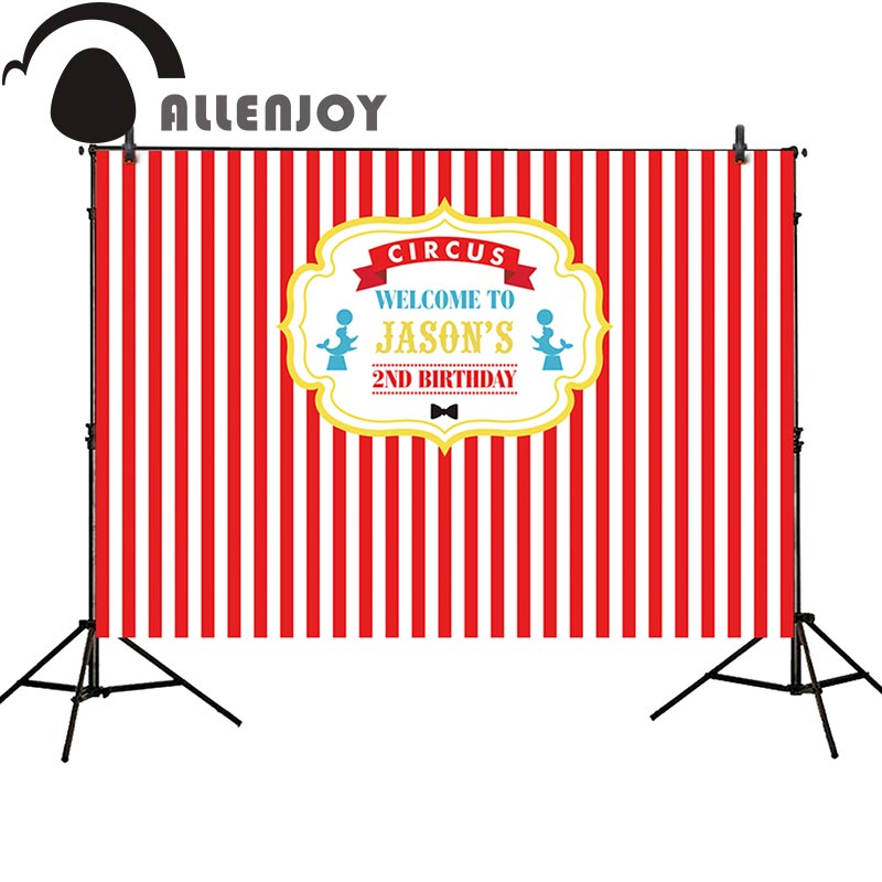 Allenjoy background for photo studio popcorn circus birthday red stripes backdrop original design photobooth photo prop allenjoy background for photo studio full moon spider black cat pumpkin halloween backdrop newborn original design fantasy props