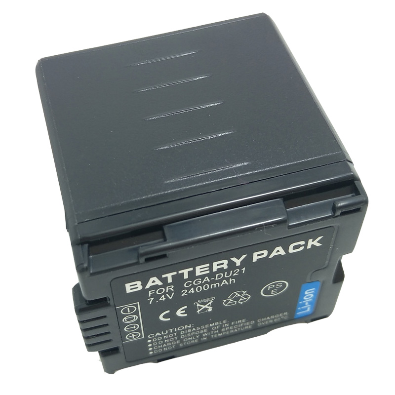 BATTERIA per Panasonic vdr-d220eb-s nv-gs200k vdr-d100 nv-gs38gk nv-gs120gn VDR-D