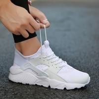 Fashion Men Casual Shoes 2018 Man Summer Comfortable Breathable Mesh Flats Female Platform Sneakers Men Chaussure Femme