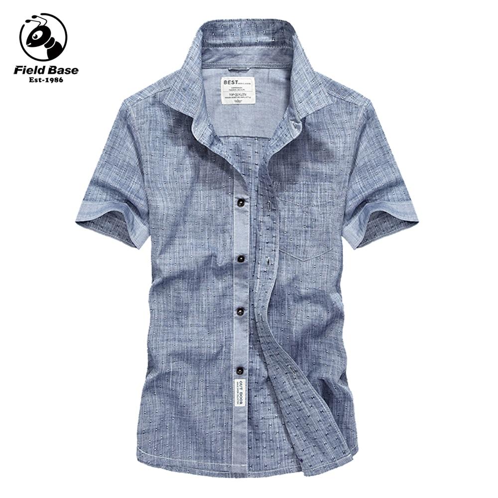 2017 new summer shirt men casual cotton social shirts for Solid color short sleeve dress shirts