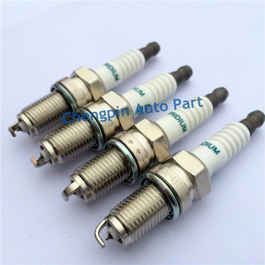10pcs lot Auto Parts Iridium Spark Plug OEM 90048 51188 SXU22PR9 Car candle for TOYOTA