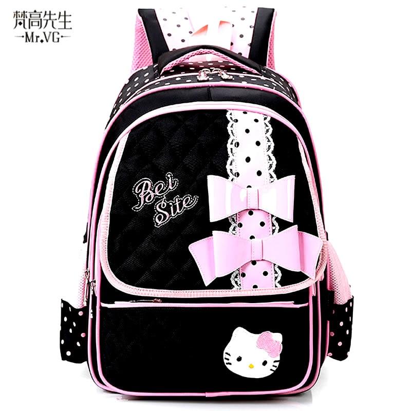 e89f34ed70 Mr. VG PROMOTION Child Backpack Cute Cartoon Backpacks For Children School  Bags Girls Satchels Student Mochila Kid Schoolbags