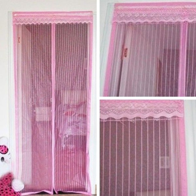 Anti Insect Fly Bug Mosquito Door Curtain Net Mesh Screen Bug Fly