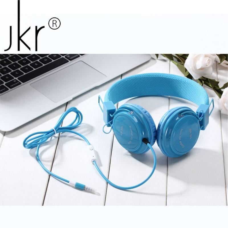 JKR Hifi Casque Audio Große Verdrahtete Gaming Kopfhörer Für Telefon Computer-Spieler Headset Kopfhörer Mit Mic Kopf Ohr Sluchatka
