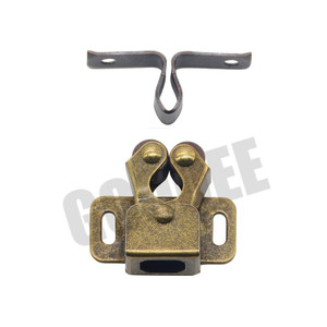 Image 5 - 1PCS Door Stop Closer Stoppers Damper Buffer Magnet Cabinet Catches With Screws For Wardrobe Hardware Furniture Fittings