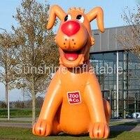 Gorąca sprzedaż giant model zwierzęcy pontony reklamowe psa dla zwierząt domowych dekoracji sklepu
