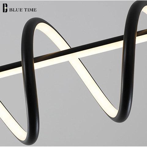 jantar acrilico led pingente lampadas casa design ac110v 220 v