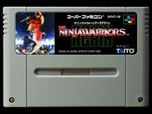 game cards : Ninja Warriors Again ( Japanese NTSC Version!! )