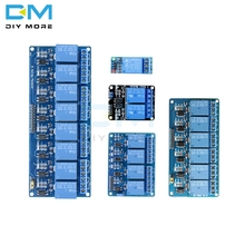 5V One 1/2/4/6/8 Channel Relay Power Module interface Board Shield For Arduino PIC AVR DSP ARM MCU DC AC 220V