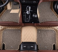 Kalaisike Custom Car Floor Mats For Chrysler All Models 300c Grand Voyager Car Accessories Car Styling