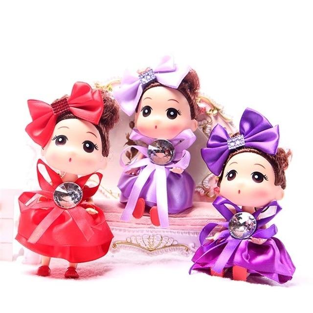 178 10 Unids Exquisito Confundido Bebé Juguetes Dibujos Animados Muñecas Moda Niñas Juguete Pequeño Colgante Llavero Valentinesday Cumpleaños